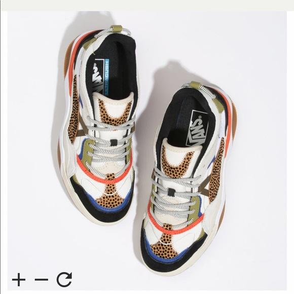 Iso Vans Tiny Cheetah Varix Sneakers